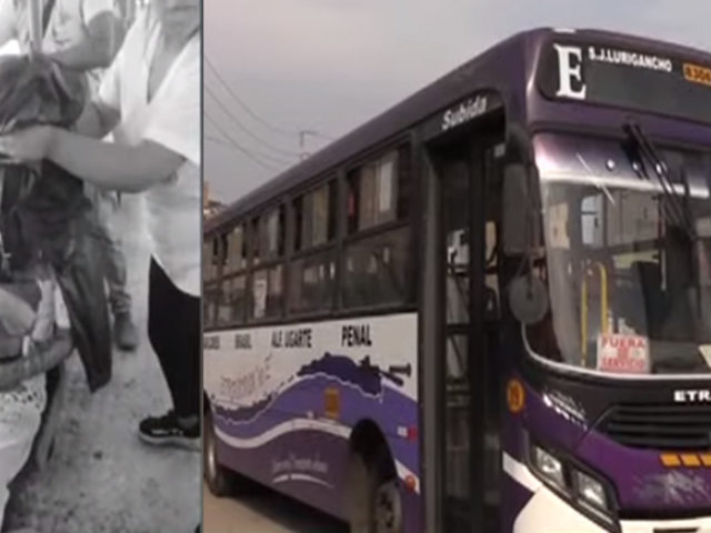 SJM: pasajero quedó herido de bala tras asalto en bus de transporte público