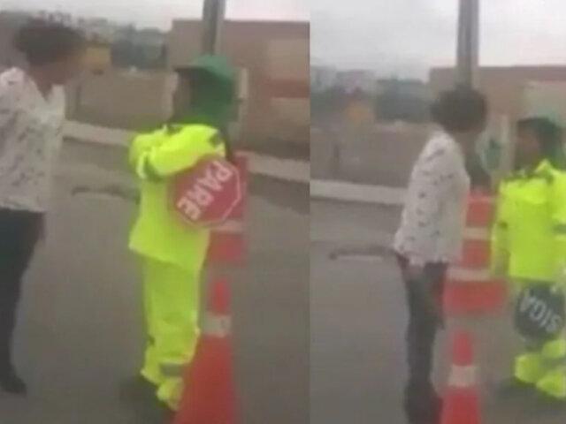 Arequipa: mandan al archivo denuncia de vigía que fue insultada por conductora
