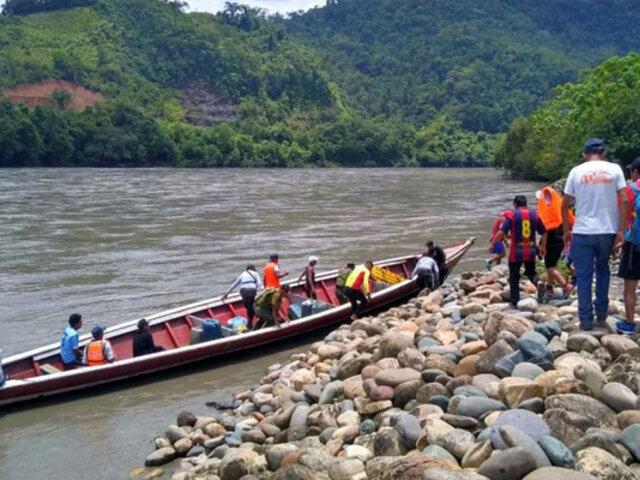 Rescatan cuerpos de dos menores desaparecidos tras naufragio de canoa en río Inambari