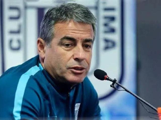 Alianza Lima: técnico se pronuncia tras salida de Deza y Ascues a discoteca
