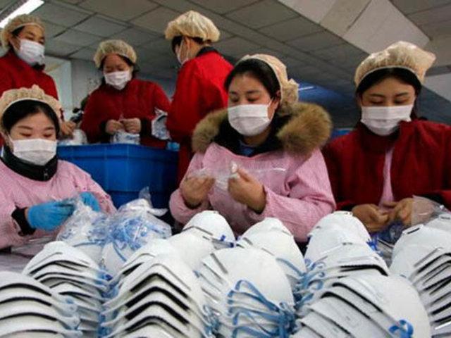 China: fábrica que producirá mascarillas será construida en solo seis días