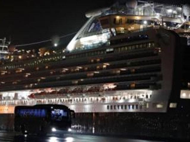 Coronavirus: Japón autorizó la evacuación de los más de 3 mil pasajeros a bordo de crucero