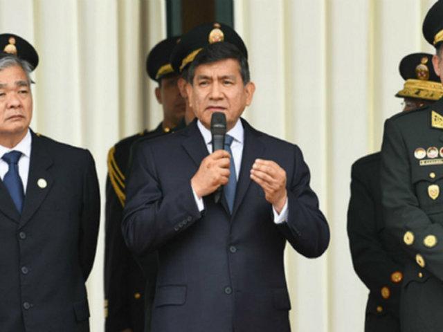 """Carlos Morán: """"Los ministros han decidido reducir sustancialmente el personal policial"""""""