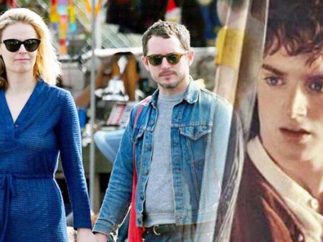 Elijah Wood: Frodo se convierte en padre a los 39 años