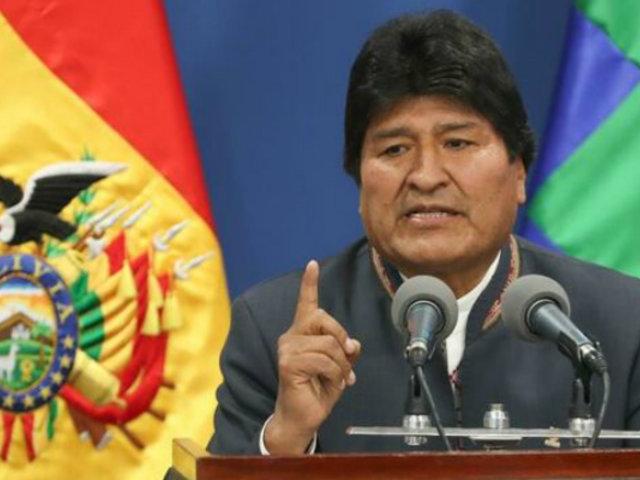 Bolivia: Evo Morales quedó inhabilitado de participar en próximos comicios