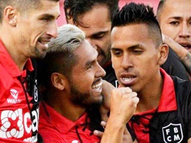 Copa Sudamericana: Melgar venció 4-3 a Nacional de Potosí en Arequipa