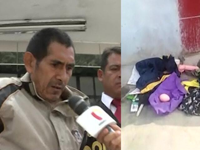 El Agustino: capturan a acosador y en su vivienda hallan juguetes sexuales y ropa íntima de niñas