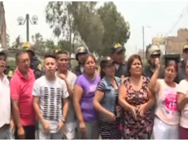 Construcción de condominio estaría dejando sin agua a vecinos de Santa Anita