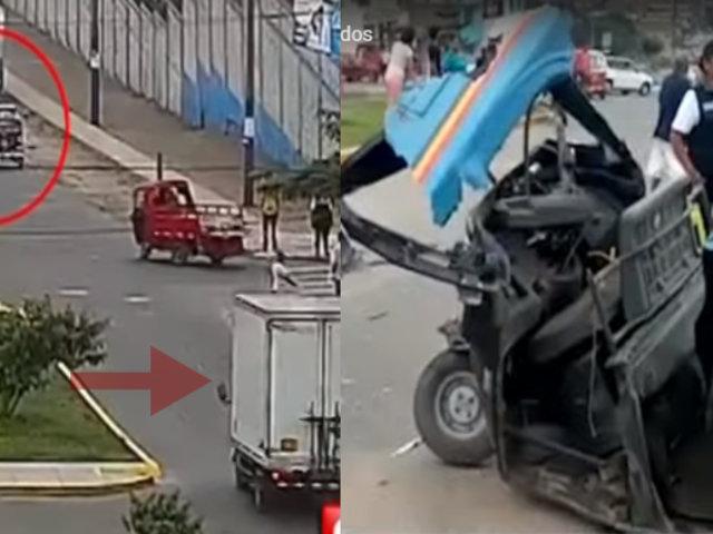Fallas en los frenos habrían causado despiste de furgoneta que dejó dos muertos y cinco heridos