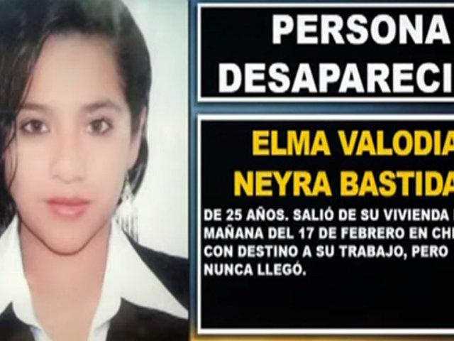 ¿Dónde esta Elma? Familiares denuncian indiferencia de la Policía