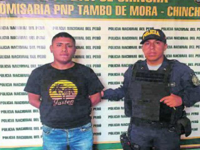 Ica: recapturan a ladrón que fugó de comisaría