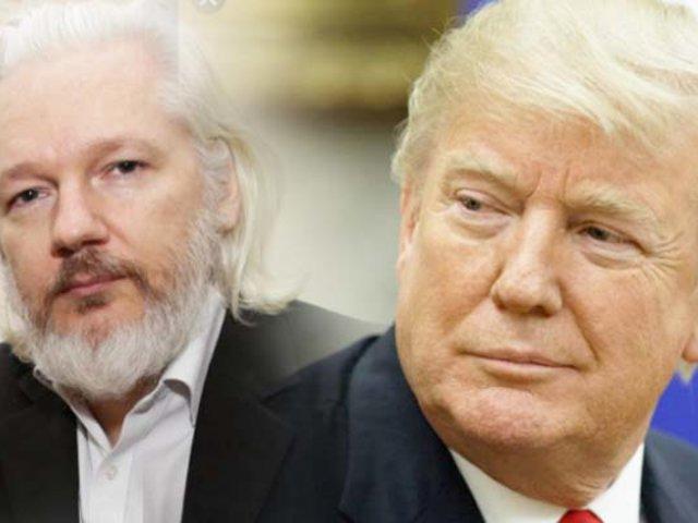 Donald Trump habría ofrecido indultar a Julian Assange