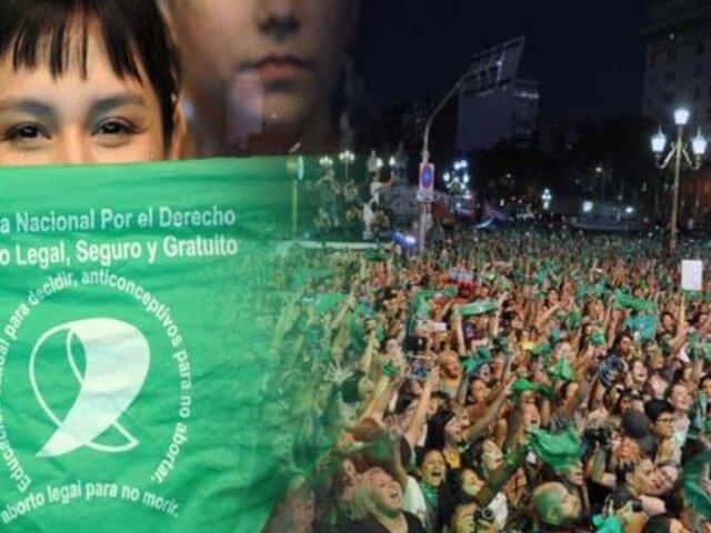 Argentina: miles de personas piden la legalización del aborto