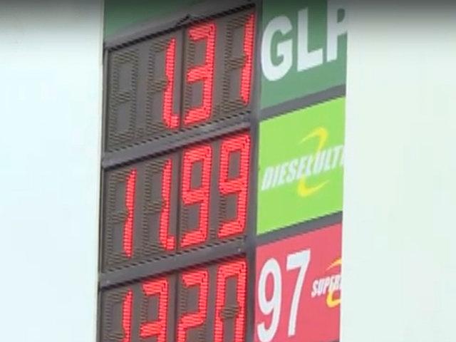 Combustibles reducen un 5%  sus tarifas en grifos