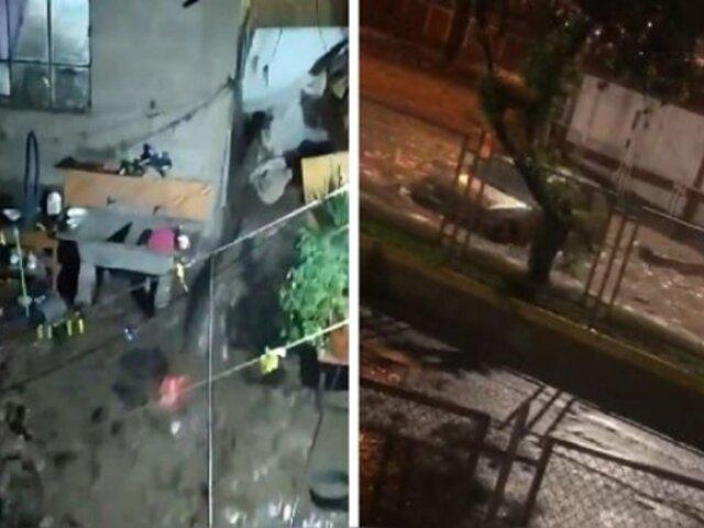 Tacna: inundaciones arrasan con autos y viviendas