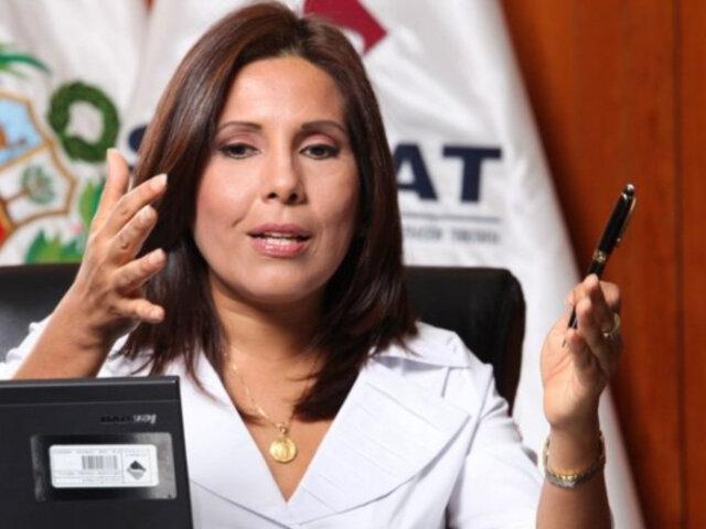 Caso Odebrecht: abren investigación preliminar a exjefa de la Sunat Tania Quispe