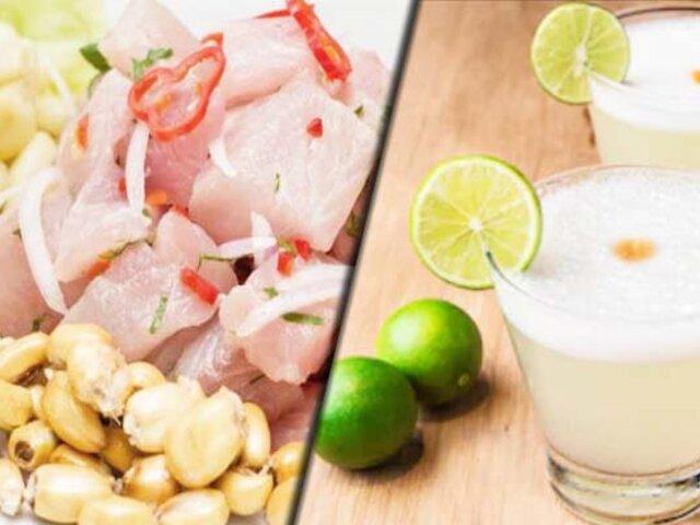 El pisco sour y el Ceviche son catalogados como lo mejor de la gastronomía chilena, según medio inglés