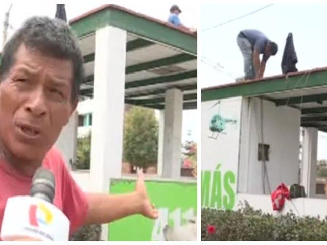 Surco: vecinos denuncian retiro de caseta de serenazgo pese a robos constantes