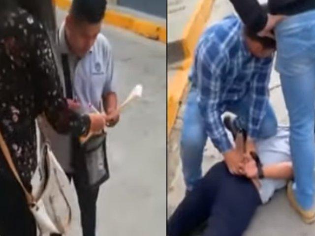 Cajamarca: capturan a sujeto mientras estafaba con cambio de tarjeta