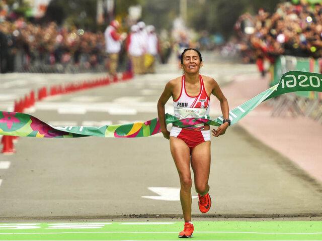 Atleta Gladys Tejeda clasificó a los Juegos Olímpicos Tokio 2020