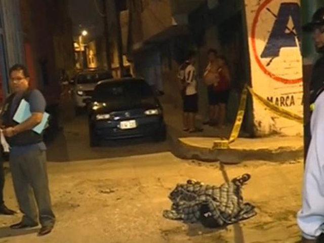 El Agustino: menor de edad murió baleado en plena vía pública