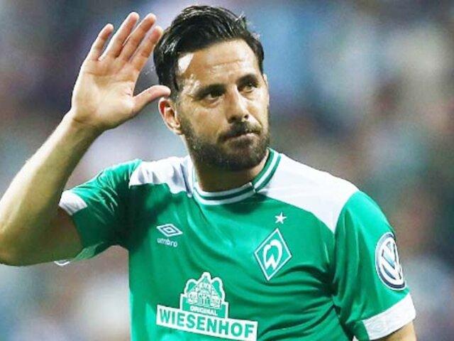 Claudio Pizarro: Werder Bremen y Bayern Munich lo quieren como embajador de sus equipos