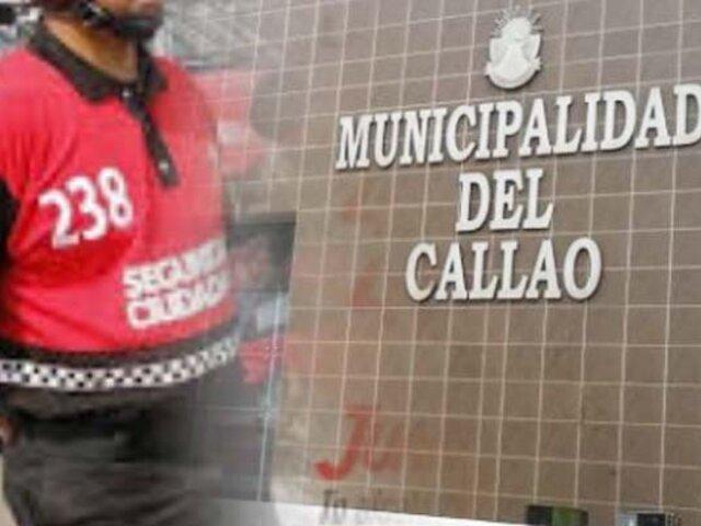 Municipalidad del Callao: serenos fantasmas cobraron más de 3 millones de soles en 2018