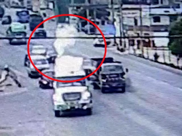 Trujillo: alarma por fuga de gas en camión cisterna
