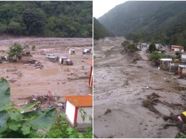 Derrumbes e inundaciones afectan la Sierra y Selva del país