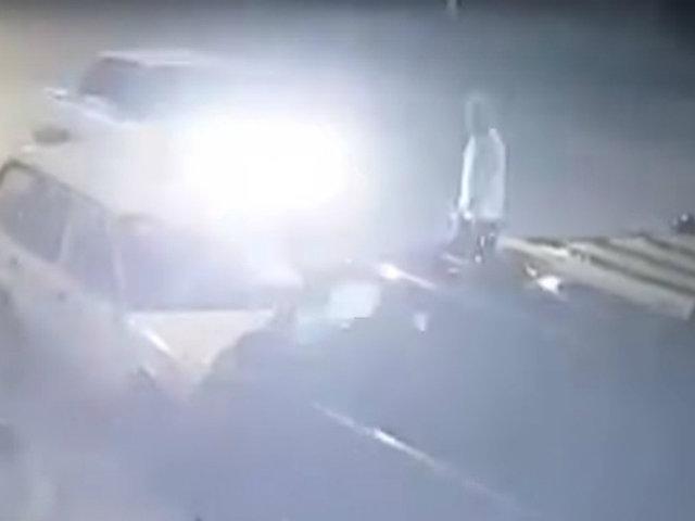 Huaral: auto embiste a un hombre de 65 años