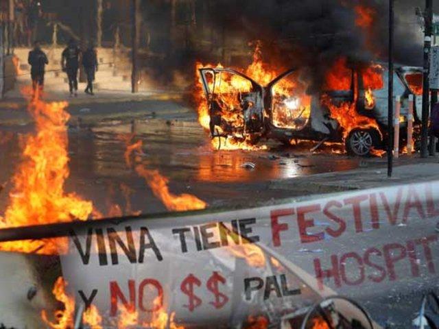 Viña del Mar: así se fueron las protestas sociales que empañaron el inicio del festival