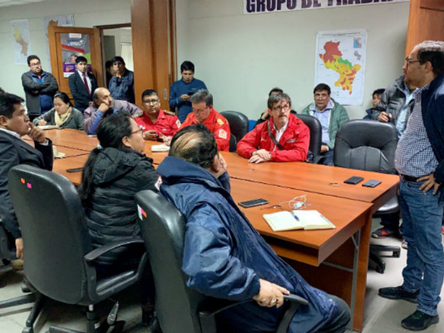Cusco: Ejecutivo llegó a Santa Teresa para brindar ayuda a damnificados tras aluvión