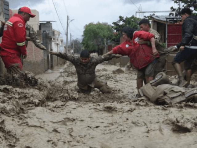 Bolivia: desborde de río ocasionó severos daños en Tiquipaya