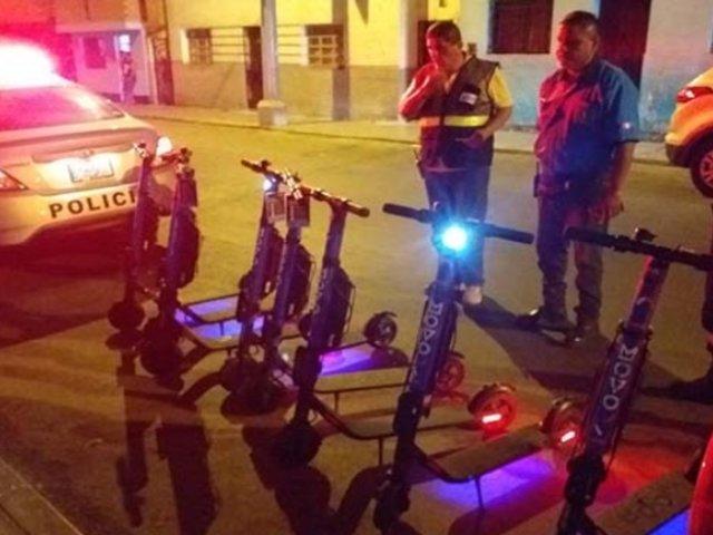 Callao: desarticulan banda que robaba scooters eléctricos