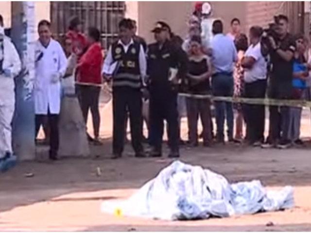 Depincri investiga balacera en fiesta de cumpleaños en Villa El Salvador