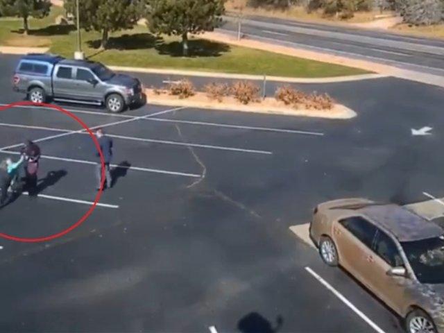 EEUU: perro ataca salvajemente a niña en estacionamiento de iglesia