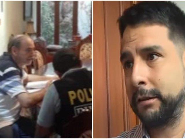 Hijo de Yehude Simon sobre detención preliminar: ''Mi padre no tiene plata''