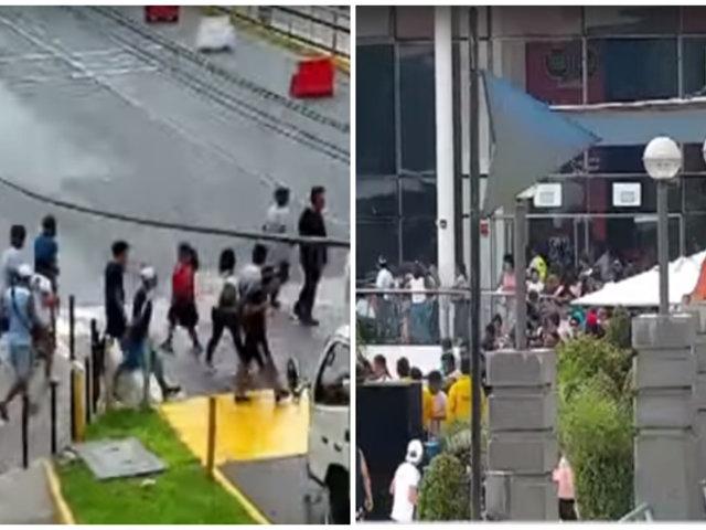 Mafias de colombianos y venezolanos se disputan cobro de cupos en exteriores de Plaza Norte