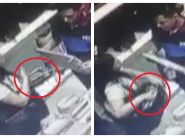 Chorrillos: 'tenderos' son captados robando billeteras en el Mall del Sur