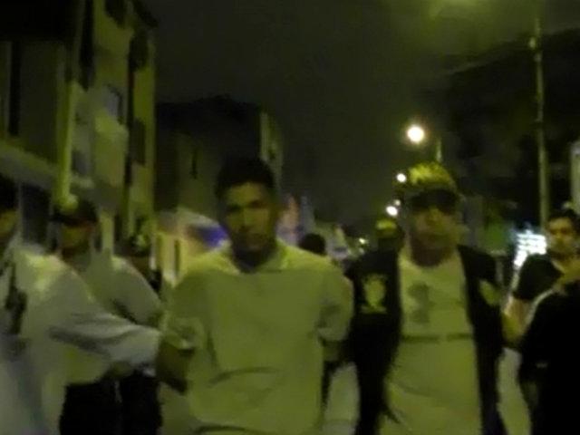 Rímac: detienen a balazos a ladrones de celulares