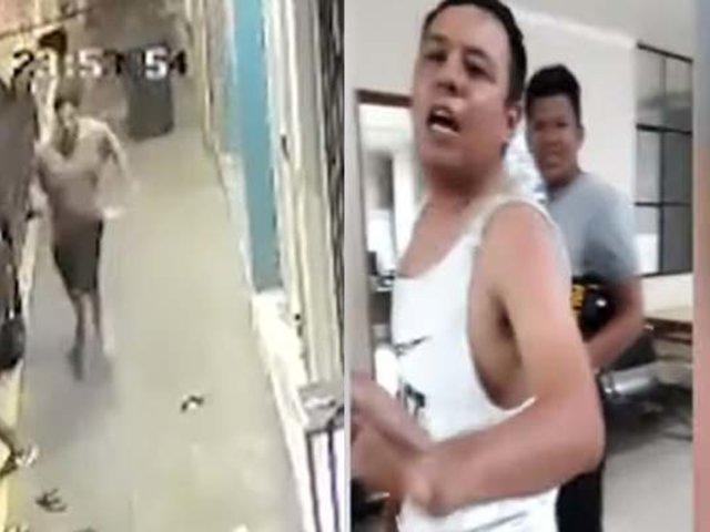 Tumbes: policía amenaza con arma de fuego a dueño de licorería porque este no le hizo rebaja