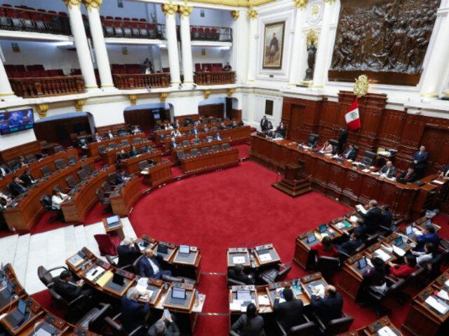 Nuevo Congreso estaría instalándose durante los primeros 10 días de marzo