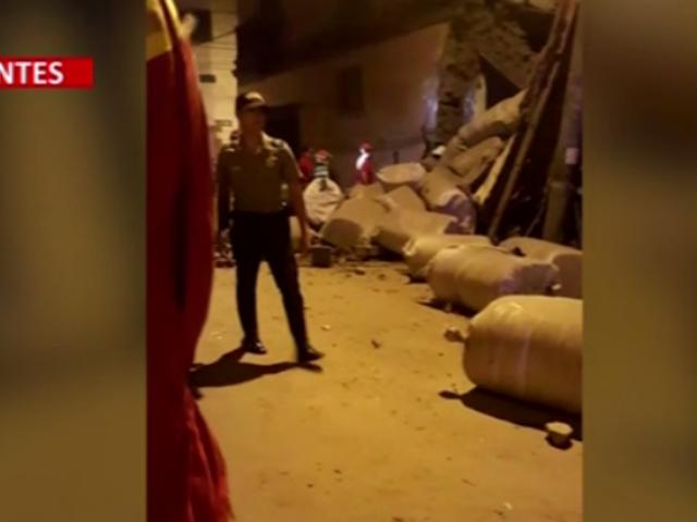 Cercado de Lima: explosión de balón de gas se produjo en vivienda del jirón Cotabambas