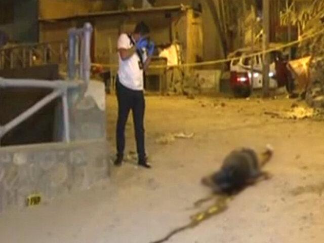 Comas: hombre es brutalmente asesinado a balazos