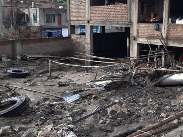 Arequipa: al menos 81 viviendas afectadas tras caída de huaico en Paucarpata