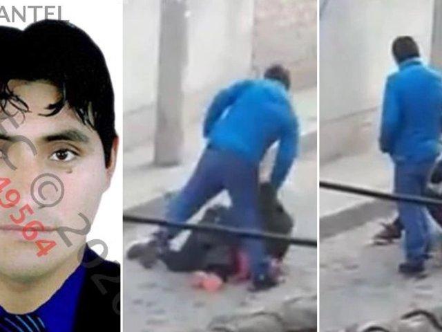 Identifican a sujeto que pateó en el suelo y jaló de los cabellos a una mujer