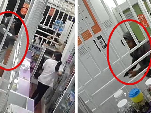 Trujillo: sujeto roba 2 mil soles de botica durante la noche