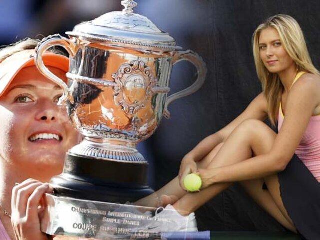 Maria Sharapova anuncia su retiro del tenis