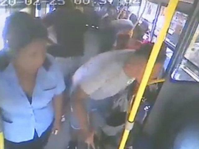 Piden prisión preventiva contra implicado en asalto a bus en SMP