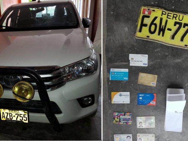 PNP interviene cochera donde guardaban modernos vehículos robados en Comas